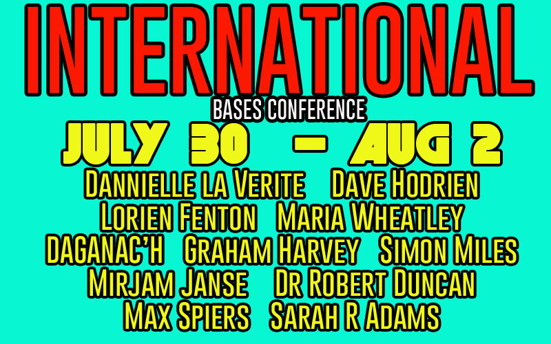 International Bases Conference July 30 – Aug 2