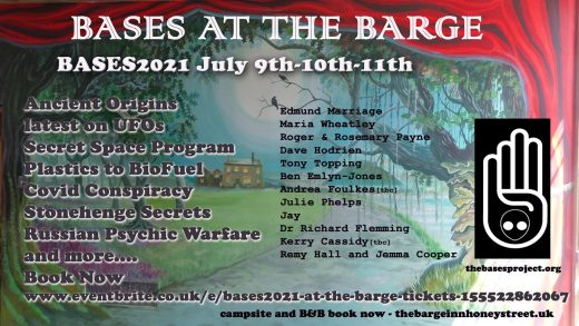 Bases at the barge - July 2021