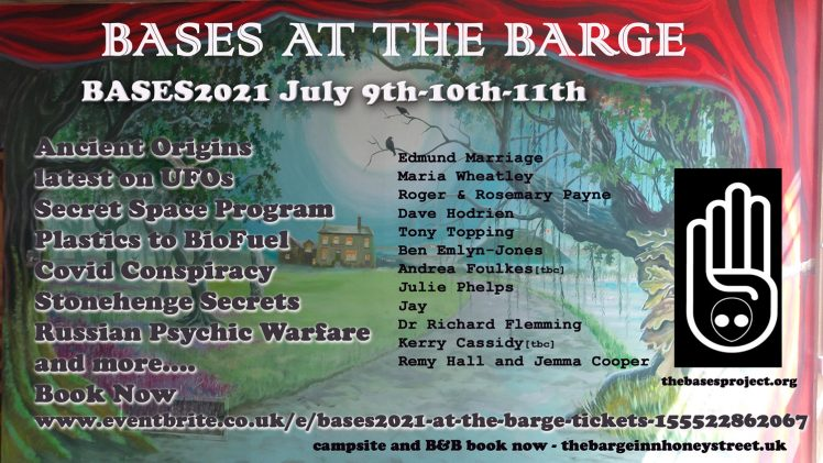 Bases at the barge – July 2021